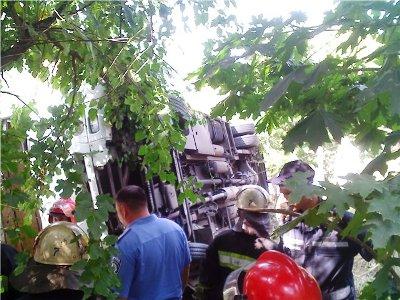 В Одессе перевернулась маршрутка. Погибла 8-летняя девочка (ФОТО)